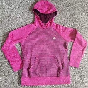 Adidas Colorblock Striped Climawarm UltimateHoodie